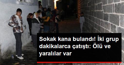 İki Grup, Sokak Ortasında 20 Dakika Boyunca Çatıştı: 2 Kişi Öldü, 2 Kişi Yarandı