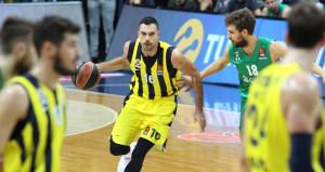Avrupa Ligindeki Türk derbisinde kazanan Fenerbahçe