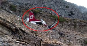 Denizlide düşen uçaktan kahreden haber geldi!