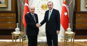 Erdoğan-Bahçeli görüşmesi sonrası AK Parti'den ittifak sinyali!