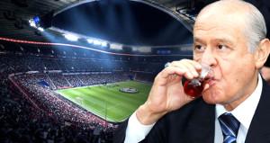 Milyonların izleyeceği maça davet edilen Bahçeli, kararını verdi