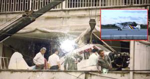 Terasında onardığı 68 yıllık uçakla, çocukluk hayalini gerçekleştirdi