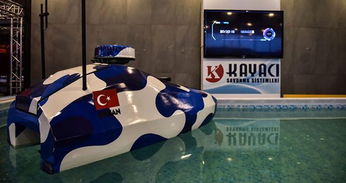 Türkiye'nin ilk insansız deniz aracı görücüye çıktı