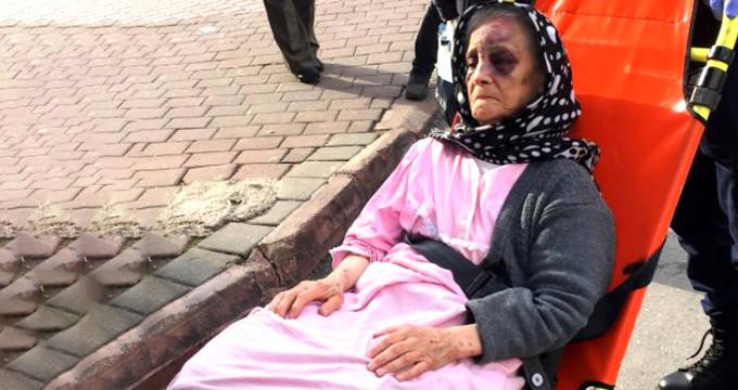 Yaşlı kadın, yalnız yaşadığı evinde bu halde bulundu!