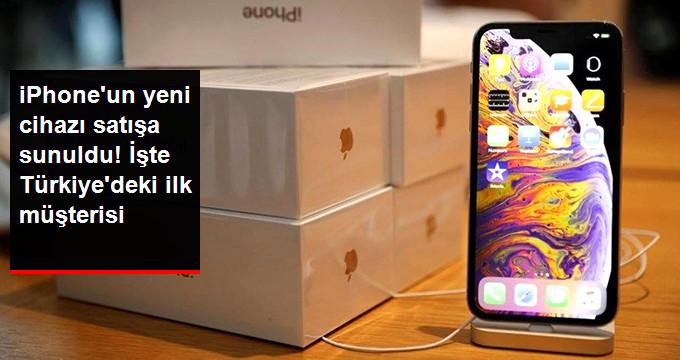 Yeni iPhoneu Türkiyede İlk Satın Alan Kişi Belli Oldu