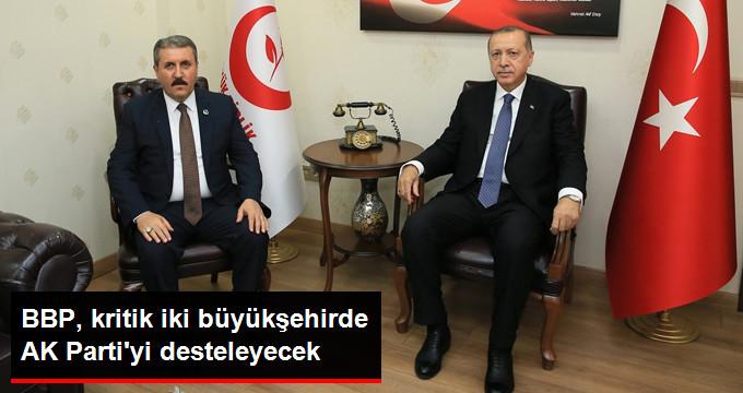 BBP, İstanbul ve Ankarada AK Partiyi Destekleyecek