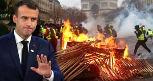 Macron'dan olayları durduracak tarihi geri adım!