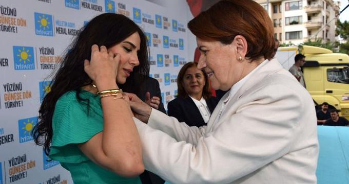 """Akşener'in """"Efsane başkanın kızı"""" dediği isim İYİ Parti'den istifa etti"""
