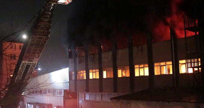 İstanbul güne yangınla başladı! Dumanlar gökyüzünü sardı