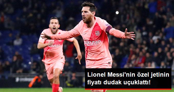 Lionel Messi nin özel jetinin fiyatı dudak uçuklattı!