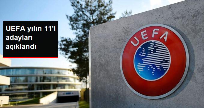 UEFA yılın 11 i adayları açıklandı