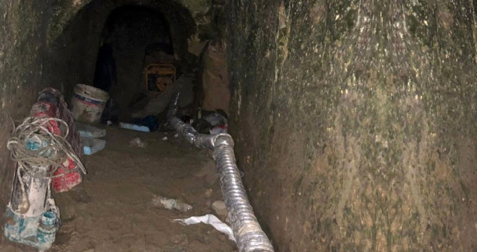4 kafadarın zengin olma hayali, bu küçük mağarada son buldu