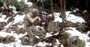 PKK'lı Kawa ve Aras'a destek için gelmişlerdi, yalın ayak kaçtılar