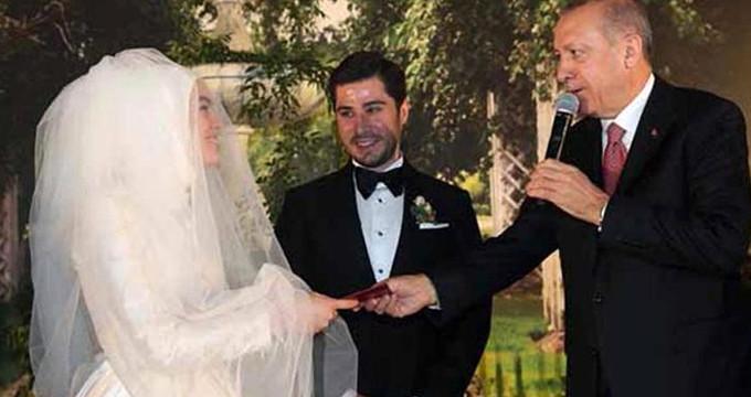Erdoğan, seçimlerdeki rakibinin düğününde nikah şahidi oldu