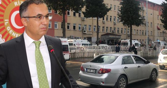 Rize Valisi, Emniyet Müdürlüğü'ndeki saldırının detaylarını anlattı