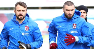 Trabzonsporda şok var! Burakla Onur TFFye gitti