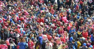 Türkiyenin en kalabalık okulu! Öğrenci sayısı 66 ilçeden fazla