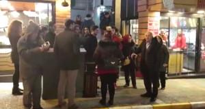 CHP'nin adayını geri çektiği ilde partililer kazan kaldırdı