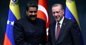 Erdoğan ile Maduronun yakınlaşması rekor getirdi