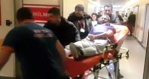 Türkiye'yi yasa boğan saldırgan, adliyeye sedye üzerinde götürüldü
