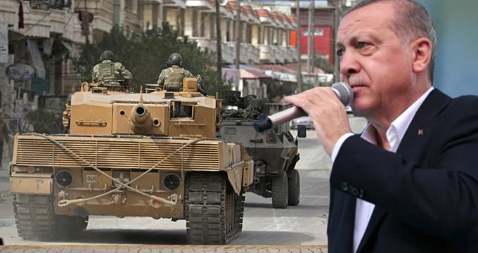 Erdoğan işareti verdi, TSK harekete geçti