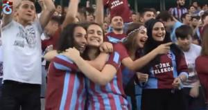 Trabzonspordan zirve paylaşımı!