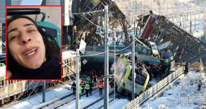 Tren faciasından yaralı kurtulan vatandaş dehşet anlarını anlattı