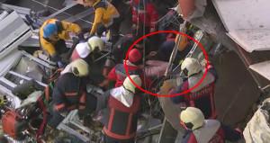 Tüm ekipler seferber oldu! Tren kazasında yaralı böyle kurtarıldı