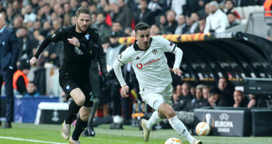 Vodafone Park'ta şok! Beşiktaş Avrupa Ligine veda etti