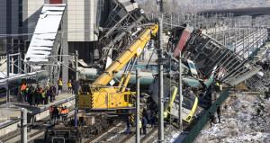 9 kişiye mezar olan trenlerin çarpışma görüntüsü ortaya çıktı