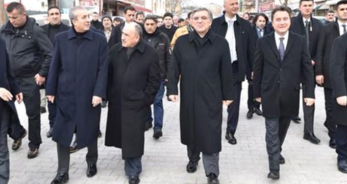 AK Parti'li isimler uzun süre sonra bir arada görüntülendi
