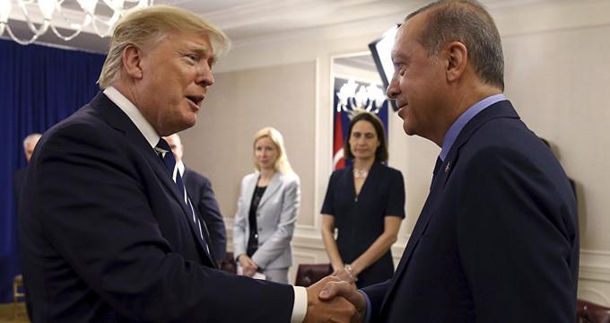 Erdoğan ile Trump, Suriye konusunda mutabakata vardı!