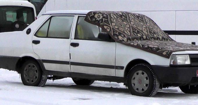 Türkiye'nin kutupları aratmayan ilçesi! Arabalar bile üşüyor