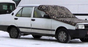 Türkiyenin kutupları aratmayan ilçesi! Arabalar bile üşüyor