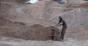 Erdoğan sinyali verdi, teröristler mezarlarını kazmaya başladı