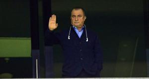 Fatih Terim, maçı locadan takip etti