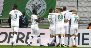 Gol düellosunda kazanan Atiker Konyaspor!