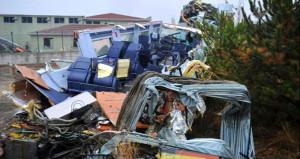 9 kişinin hayatını kaybettiği tren faciasından korkunç kareler!