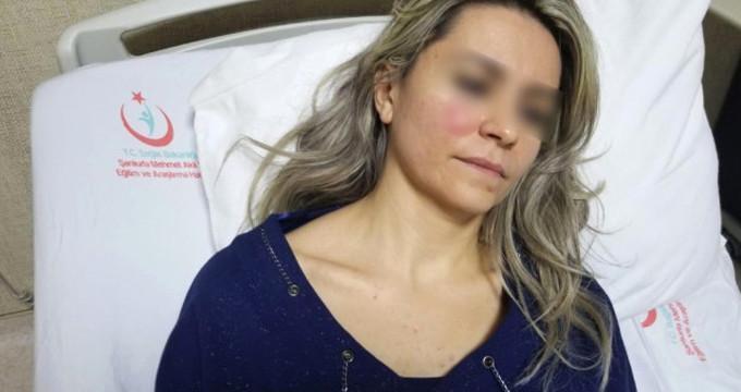 Tedavi olmak için gittiği doktoru otoparkta hastanelik etti