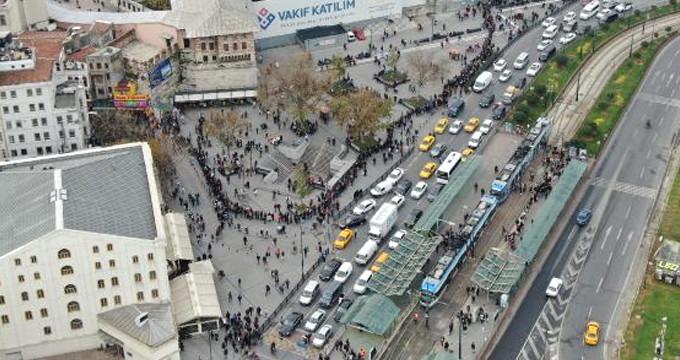Türkiye'nin en şanslı noktasında, kuyruğun sonu görünmüyor