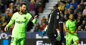 Barcelona, deplasmanda rakibini fena dağıttı