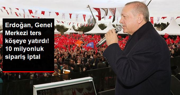 AK Parti Genel Merkezinden Bayrak Açıklaması: Cumhurbaşkanımızın Bizi Ters Köşe Yapacağını Bilemedik