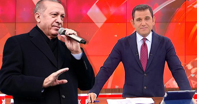 Erdoğan'ın sözlerini duyan Portakal, kararını canlı yayında açıkladı