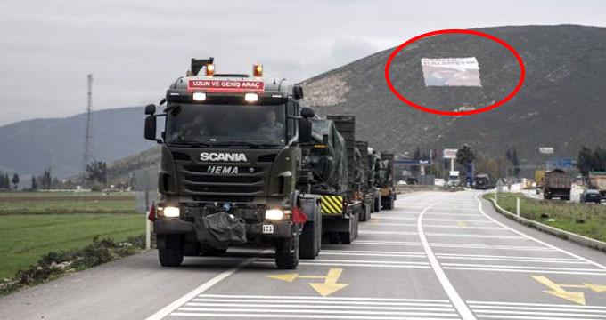 Komandolardan teröristleri titreten mesaj! Dağın yamacına astılar