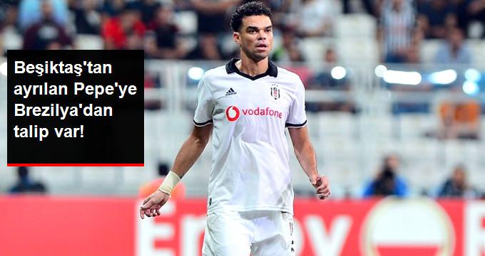 Beşiktaştan ayrılan Pepeye Brezilyadan talip var!