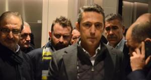 Fenerbahçe Başkanı Ali Koç, gece yarısı hastaneye koştu