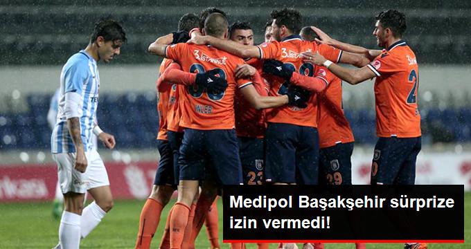 Medipol Başakşehir sürprize izin vermedi!