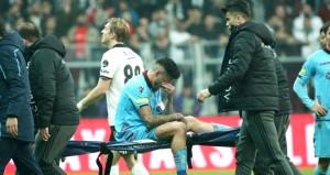 Trabzonspora Beşiktaş maçının faturası ağır oldu