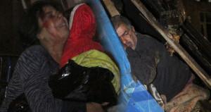 Dehşeti uykuda yaşadılar! Eşini ve çocuğunu çaresizce böyle izledi
