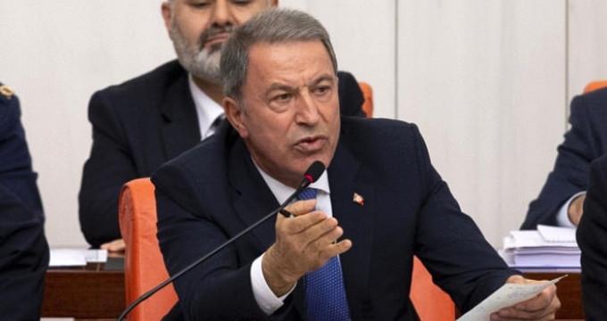 Hulusi Akar'ın Meclis'te işaret ettiği CHP'liden, yanıt geldi